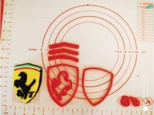 Κουπάτ Set Ferrari Logo