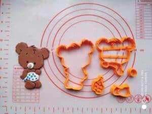 Κουπάτ Set Αρκουδάκι 3