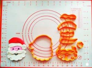 Κουπάτ Set Άγιος Βασίλης Πρόσωπο