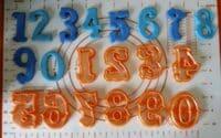 Κουπάτ Set Vintage Αριθμοί