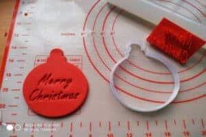 Κουπάτ Set Χριστουγεννιάτικη Μπάλα με Σφραγίδα