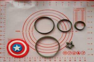 Κουπάτ Set Ασπίδα Captain America