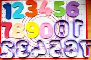 Κουπάτ Set Αριθμοί Νο 2