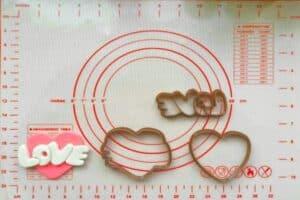 Κουπάτ Set Καρδιά με Love 2