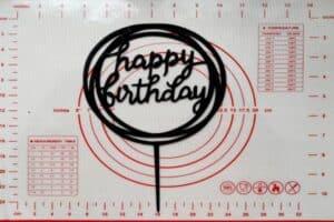 Topper Happy Birthday