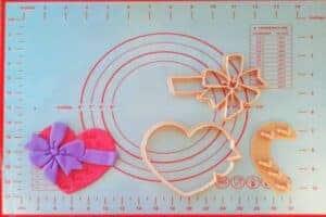 Κουπάτ Set Καρδιά με Φιόγκο