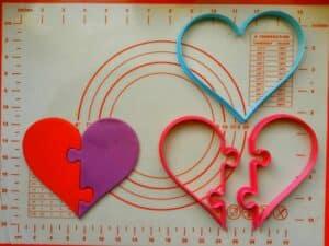 Κουπάτ Set Καρδιά Πάζλ