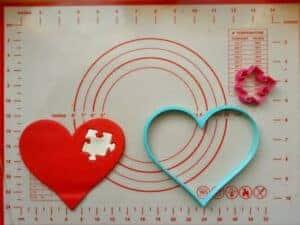 Κουπάτ Set Καρδιά με Πάζλ