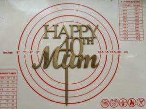 Topper Happy Mum
