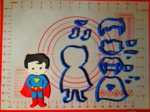 Κουπάτ Set Superman Ολόσωμος