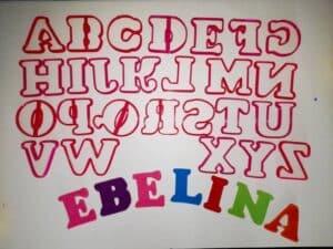 Κουπάτ Set Αγγλική Γραμματοσειρά 2