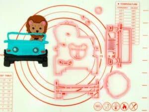 Κουπάτ Set Λιονταράκι Με Jeep