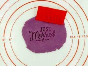 Σφραγίδα Just Married