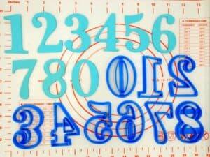 Κουπάτ Set Αριθμοί Νο4