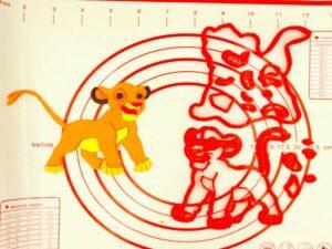 Κουπάτ Simba Lion King No3
